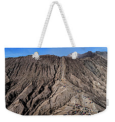 Weekender Tote Bag featuring the photograph Leading To The Volcano Crater by Pradeep Raja Prints