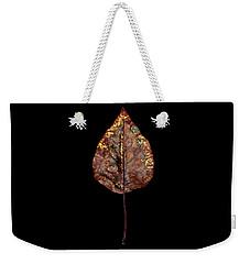 Leaf 21 Weekender Tote Bag