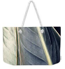 Leaf Abstract 14 Weekender Tote Bag by Sarah Loft