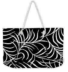 Leaf Abundance Pattern Weekender Tote Bag by Saundra Myles