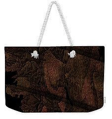 Leaf Bars On Stony Orchid Weekender Tote Bag