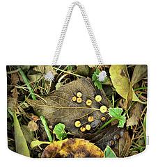 Leaf Detail Weekender Tote Bag