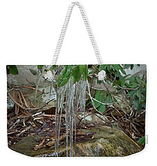 Leaf Drippings Weekender Tote Bag