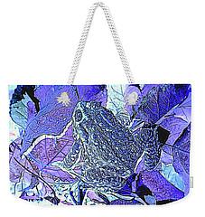 Leaf Hopper Weekender Tote Bag by Aliceann Carlton