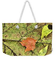 Leaf Litter Weekender Tote Bag