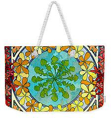 Leaf Motif 1901 Weekender Tote Bag by Padre Art