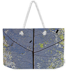 Leaf Structure Weekender Tote Bag