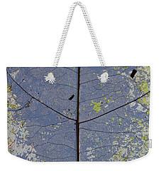Leaf Structure Weekender Tote Bag