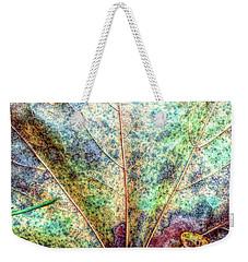 Leaf Terrain Weekender Tote Bag