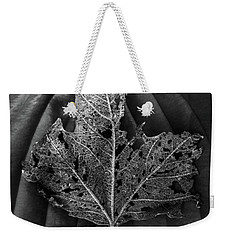 Weekender Tote Bag featuring the photograph Leaf Variations by James Aiken