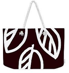 Leaf2 Weekender Tote Bag