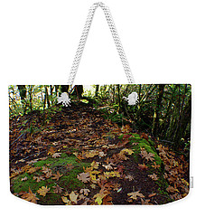 Leafy Clearing Weekender Tote Bag by Adria Trail