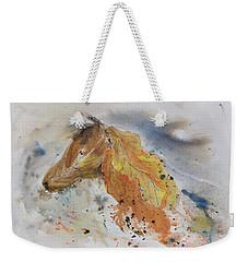 Leafy Horse Weekender Tote Bag