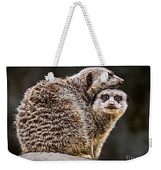 Lean On Me Weekender Tote Bag by Jamie Pham