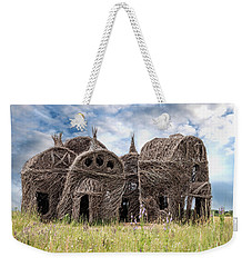 Lean On Me - Stick House Series 1/3 Weekender Tote Bag