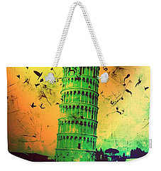 Leaning Tower Of Pisa 32 Weekender Tote Bag