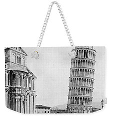 Leaning Tower Of Pisa Italy - C 1902  Weekender Tote Bag by International  Images