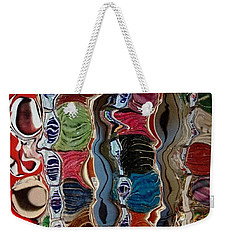 Weekender Tote Bag featuring the photograph Poupourri by Kathie Chicoine