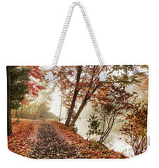 Leaning Tree Weekender Tote Bag