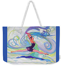 Leap Of Joy Weekender Tote Bag