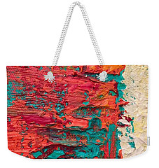 Learning Curve One Weekender Tote Bag by Heather Roddy