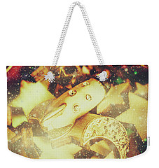Learning The Magic Of Stars And Space Weekender Tote Bag