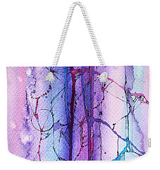 Learning To Weather The Storm Weekender Tote Bag by Rebecca Davis