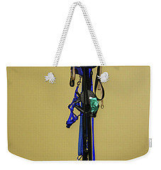 Leash Lady Just Hanging On The Wall Weekender Tote Bag
