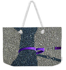 Leash Required On Sunny Days Weekender Tote Bag