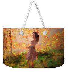 Weekender Tote Bag featuring the photograph Leave The Past by Rose-Maries Pictures