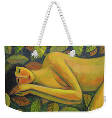 Leaves Of Absence Weekender Tote Bag by Glenn Quist