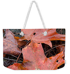 Leaves-old Leaves Weekender Tote Bag