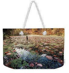 Leaves On The Lake Weekender Tote Bag