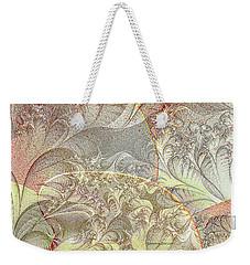 Leaves On The Petals Weekender Tote Bag