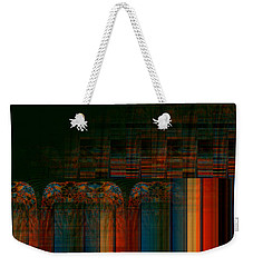 Leaving Darkness Weekender Tote Bag by Thibault Toussaint