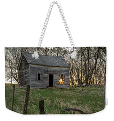 Leaving The Light On Weekender Tote Bag by Penny Meyers
