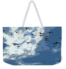 Leaving The Snow Behind Weekender Tote Bag