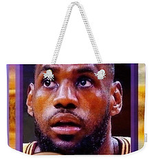 Lebron James Believes Weekender Tote Bag