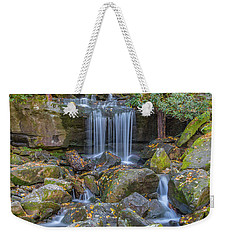 Leconte Creek Waterfall 2 Weekender Tote Bag
