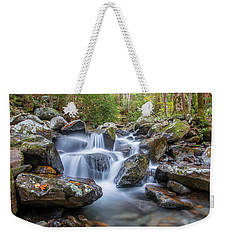 Leconte Creek Watrefall Weekender Tote Bag