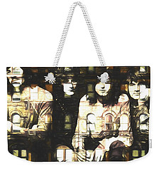 Led Zeppelin Physical Graffiti Weekender Tote Bag by Dan Sproul