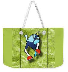 Lederhosen Weekender Tote Bag by Uncle J's Monsters