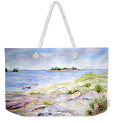 Ledges Of Granite Weekender Tote Bag