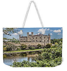 Leeds Castle, Uk Weekender Tote Bag by Shirley Mangini