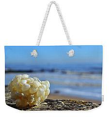 Left By The Tide Weekender Tote Bag