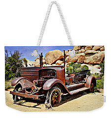 Left For Dead - Joshua Tree National Park Weekender Tote Bag