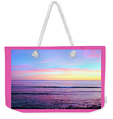 Left Right Sunset Weekender Tote Bag