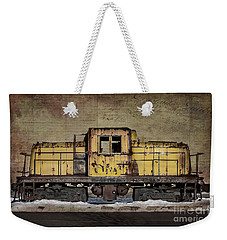 Left To Rust Weekender Tote Bag by Judy Wolinsky
