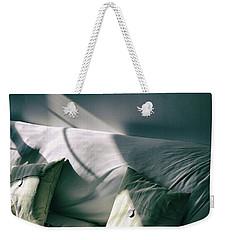 Leftover Light Weekender Tote Bag