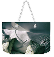 Weekender Tote Bag featuring the photograph Leftover Light by Steven Huszar